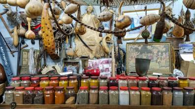 The Hamudi Kurdy Spice Shop...too bad the antiques weren't for sale!