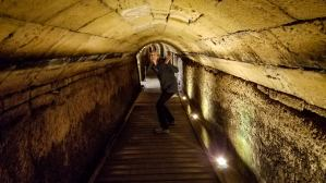 These Templar Knight tunnels, connecting the fortress to the port, were only discovered 20 years ago...who knows what else they will find under the streets of Akko?