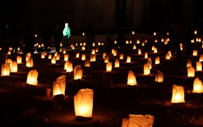 Candlelit Petra