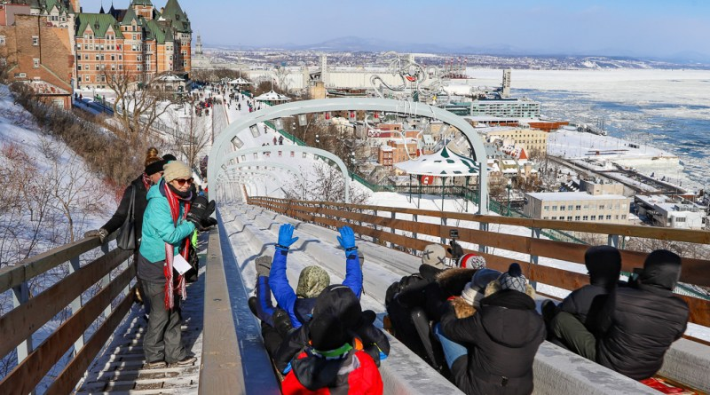 Quebec City Toboggan