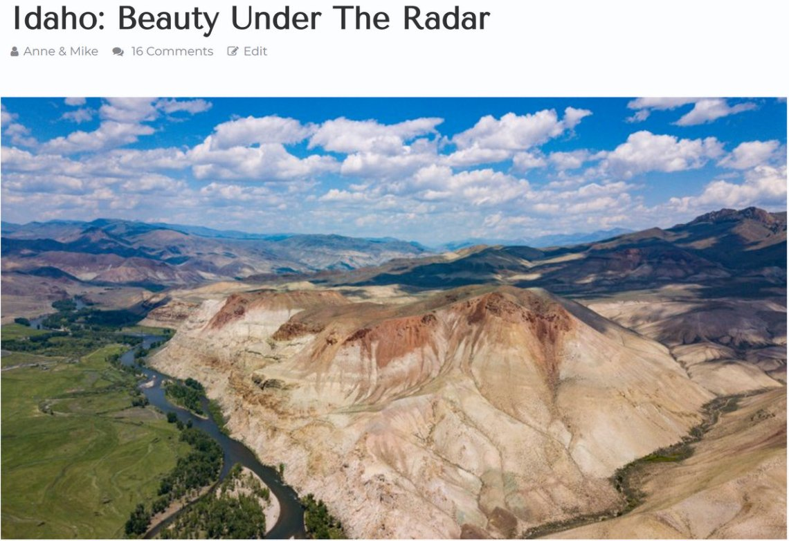 HoneyTrek Blog on Idaho