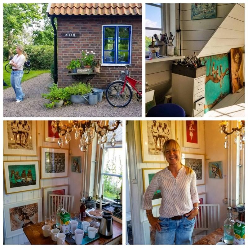 Artist Helena Staffas