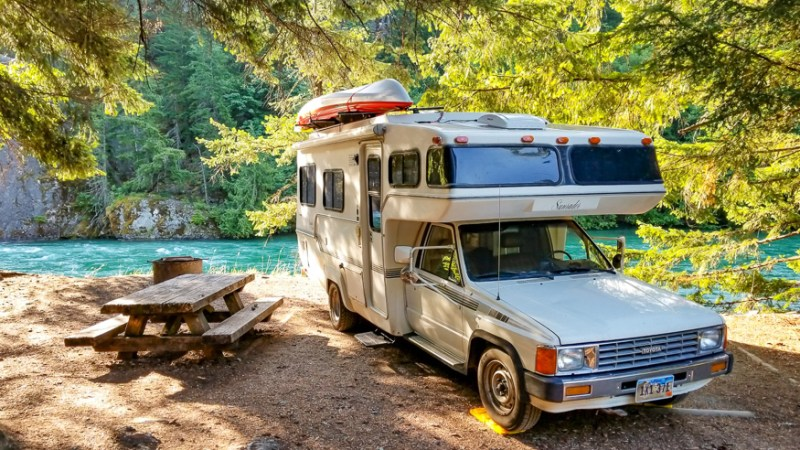 RV Tips for camping on public lands