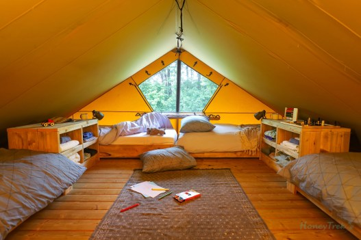 Two Story Glamping Tent