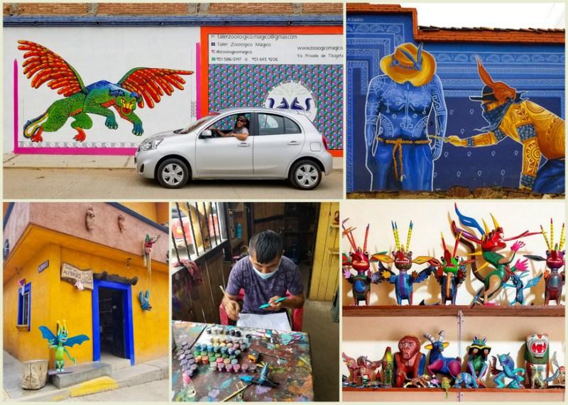oaxaca road trip itinerary