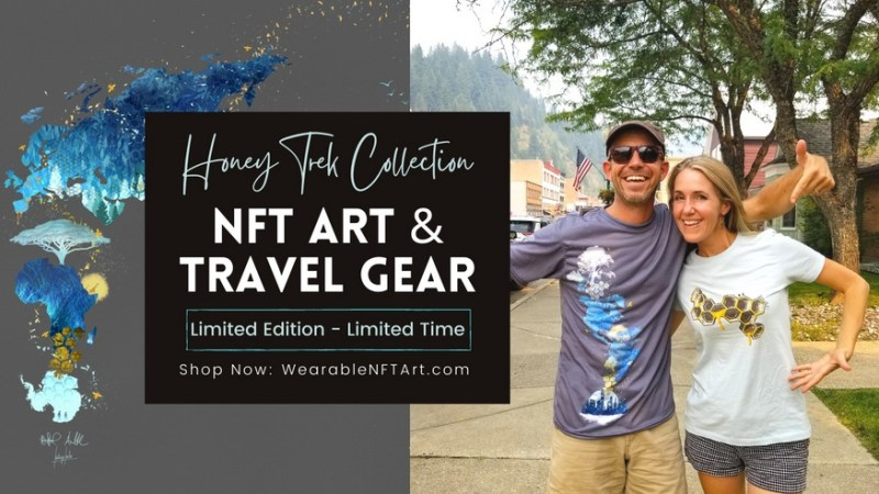 Wearable NFT Art