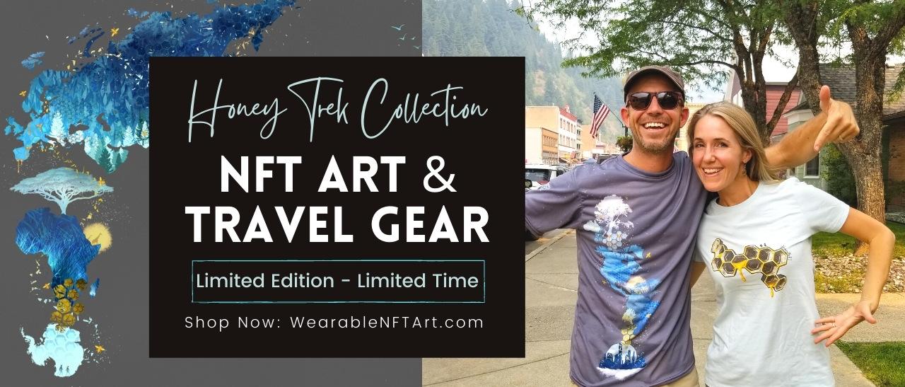 HoneyTrek NFT Art & Travel Gear