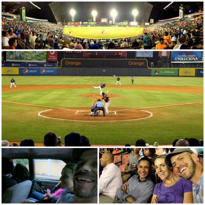 Baseball at Quisqueya Stadium