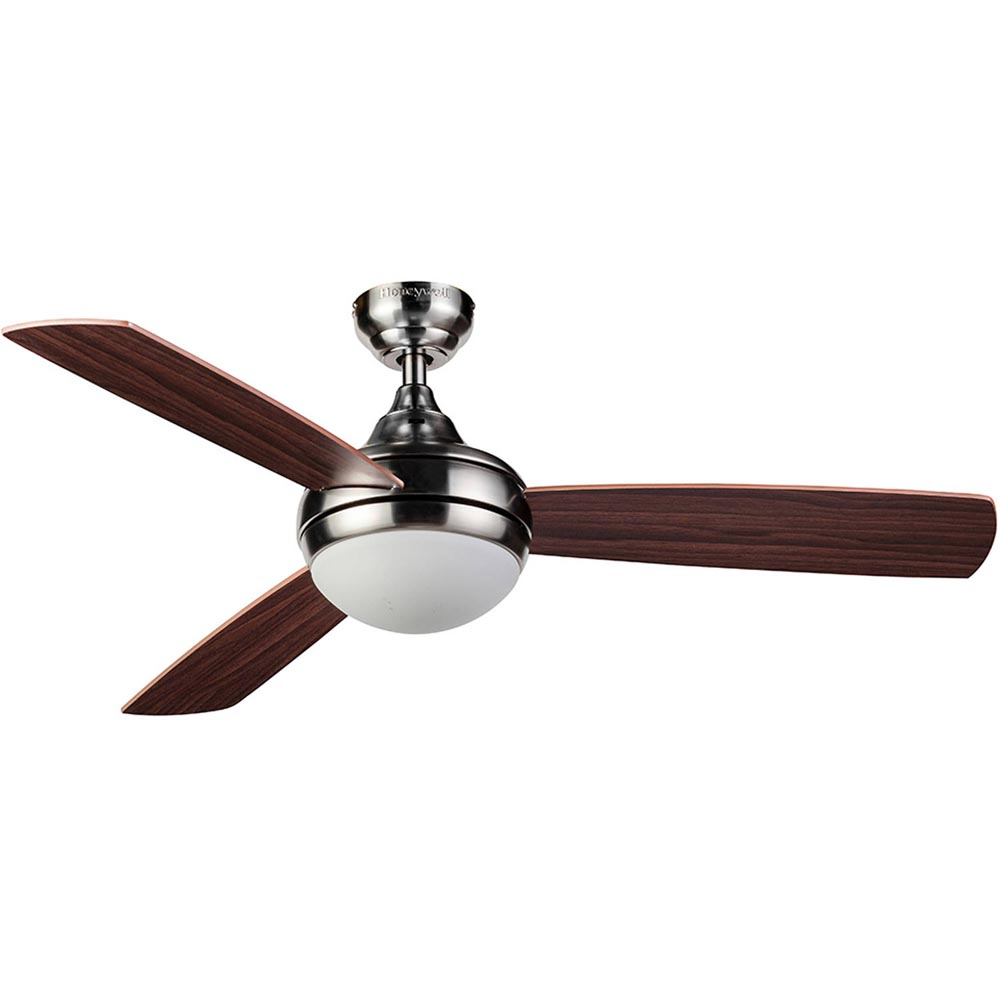 medium resolution of honeywell bellecrest ceiling fan with remote satin nickel 48 inch 10285