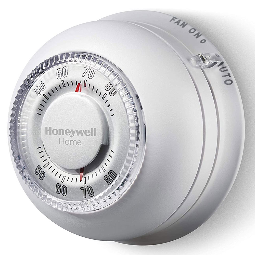 medium resolution of  honeywell ct87k1004 the round heat only non programmable thermostat on honeywell rth3100c wiring diagram