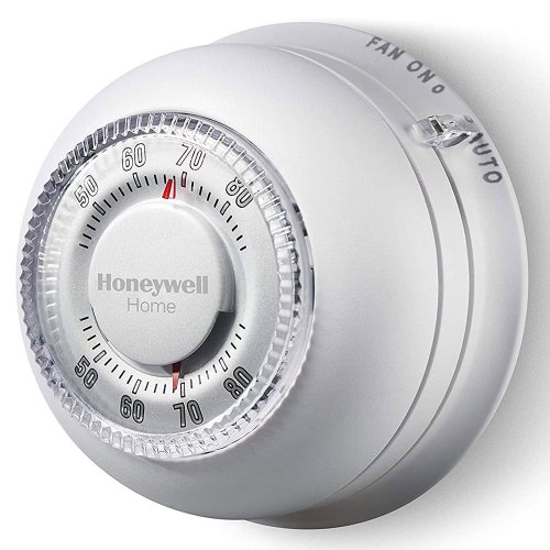 small resolution of  honeywell ct87k1004 the round heat only non programmable thermostat on honeywell rth3100c wiring diagram
