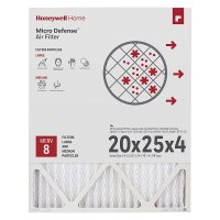 Honeywell CF100A1025 High Efficiency Air Cleaning Filter ...