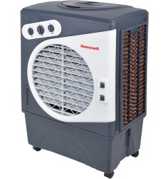 honeywell co60pm evaporative air cooler for indoor outdoor commercial use 60 liter  [ 1000 x 1000 Pixel ]