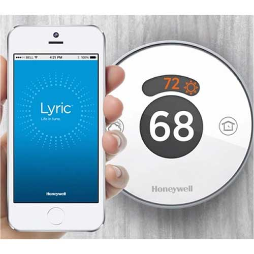honeywell wifi thermostat kit sky hd box connections diagram rch9310wf lyric comfort made simple round wi fi second generation