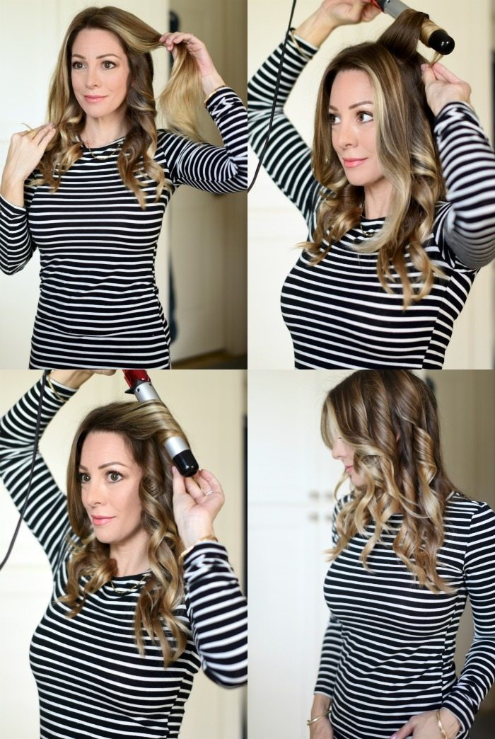 How to Use a Curling Wand To Get Loose Waves  Honey Were