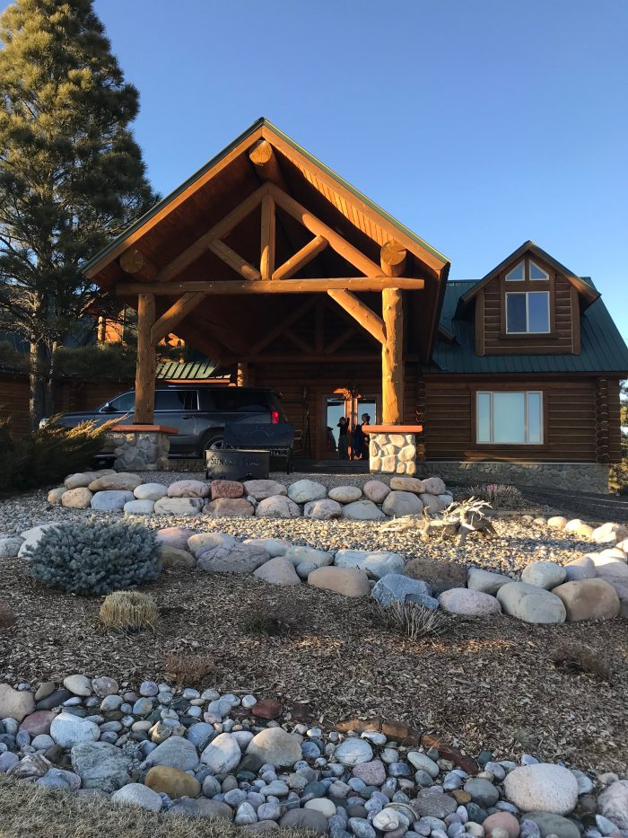 Family Ski Trip With Toddler Cabin In Pagosa Springs