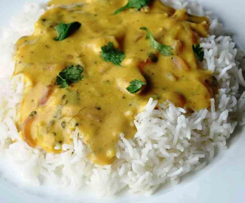 Punjabi Kadhi | Punjabi Yellow Curry made with Chickpea Flour and Yogurt  (healthy, gluten-free)
