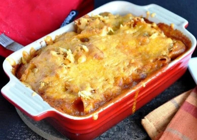 Crunchy Tortilla Salsa Mac and Cheese