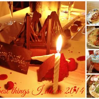 15 Best Things I ate in 2014