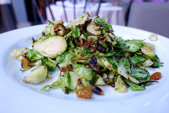 Warm Shaved Brussels Sprouts, Pump LA