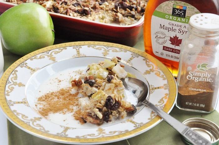 Apple Pie Baked Oatmeal (41)