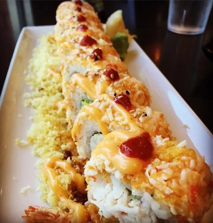 Amber Roll - Orange Roll & Sushi, Tustin, CA