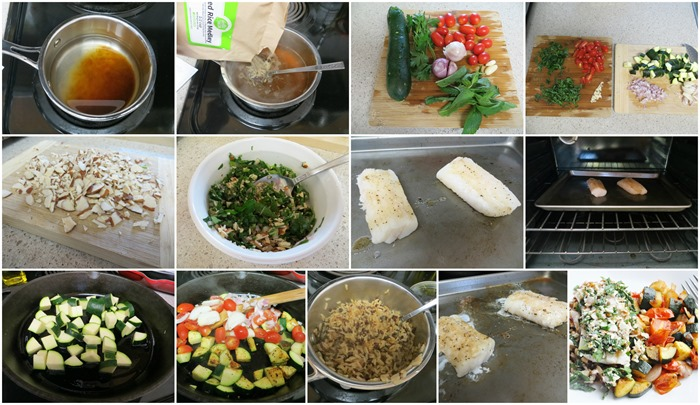 Argentinian-Style Cod step by step