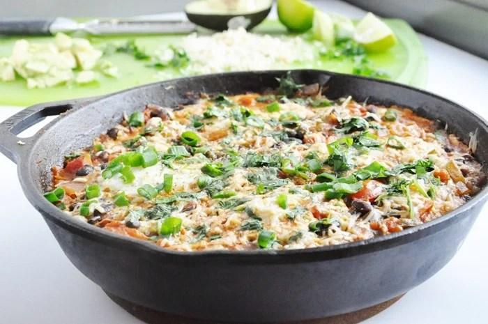 Black Bean Mexican Skillet Eggs (48)