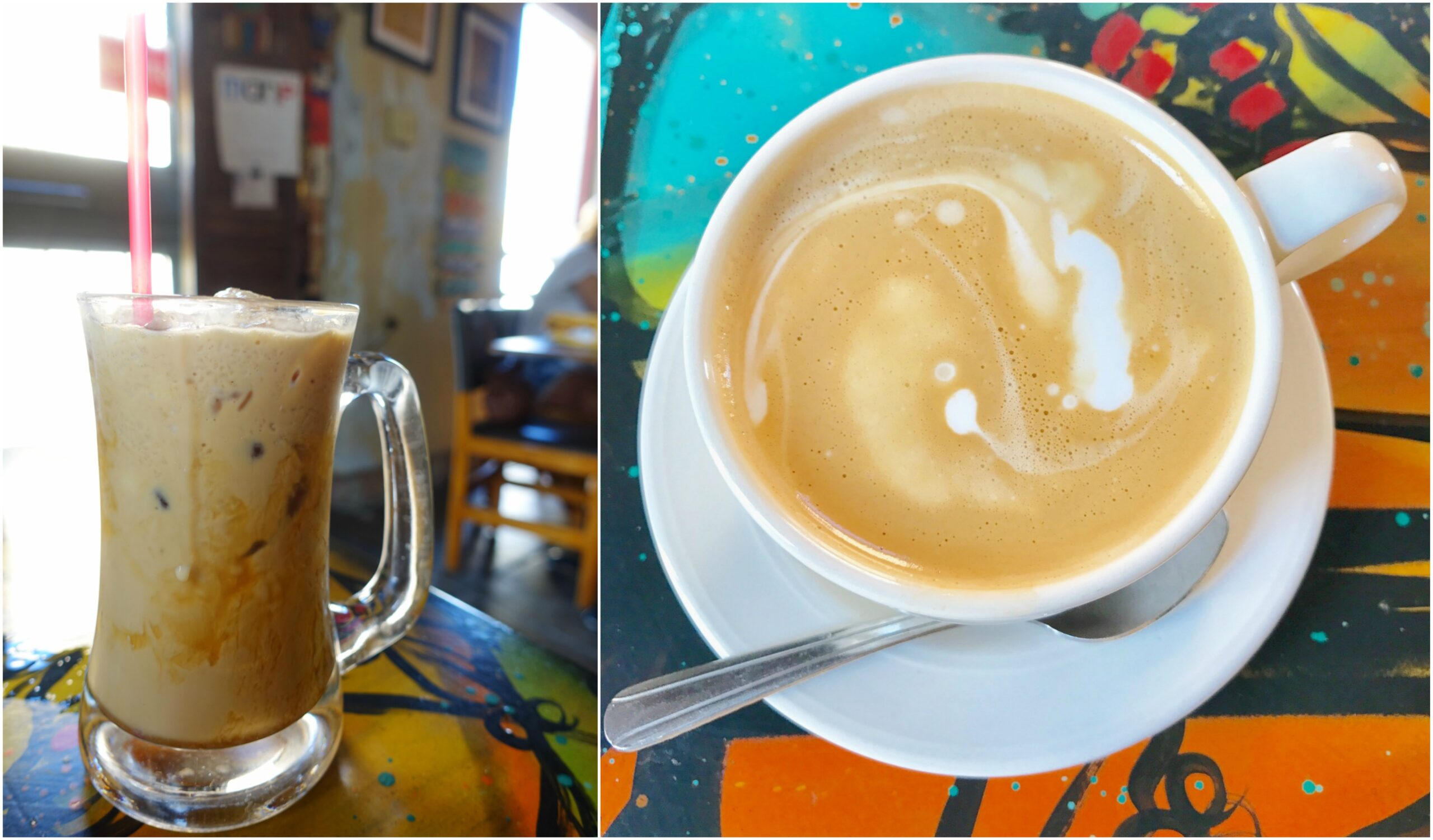 Cafe con Leche - Cafe Cafe, Ponce, Puerto Rico