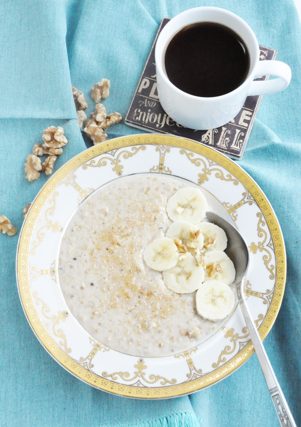 Classic Banana Walnut Steel Cut Oats (18)