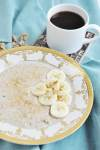 Classic Banana Walnut Steel Cut Oats