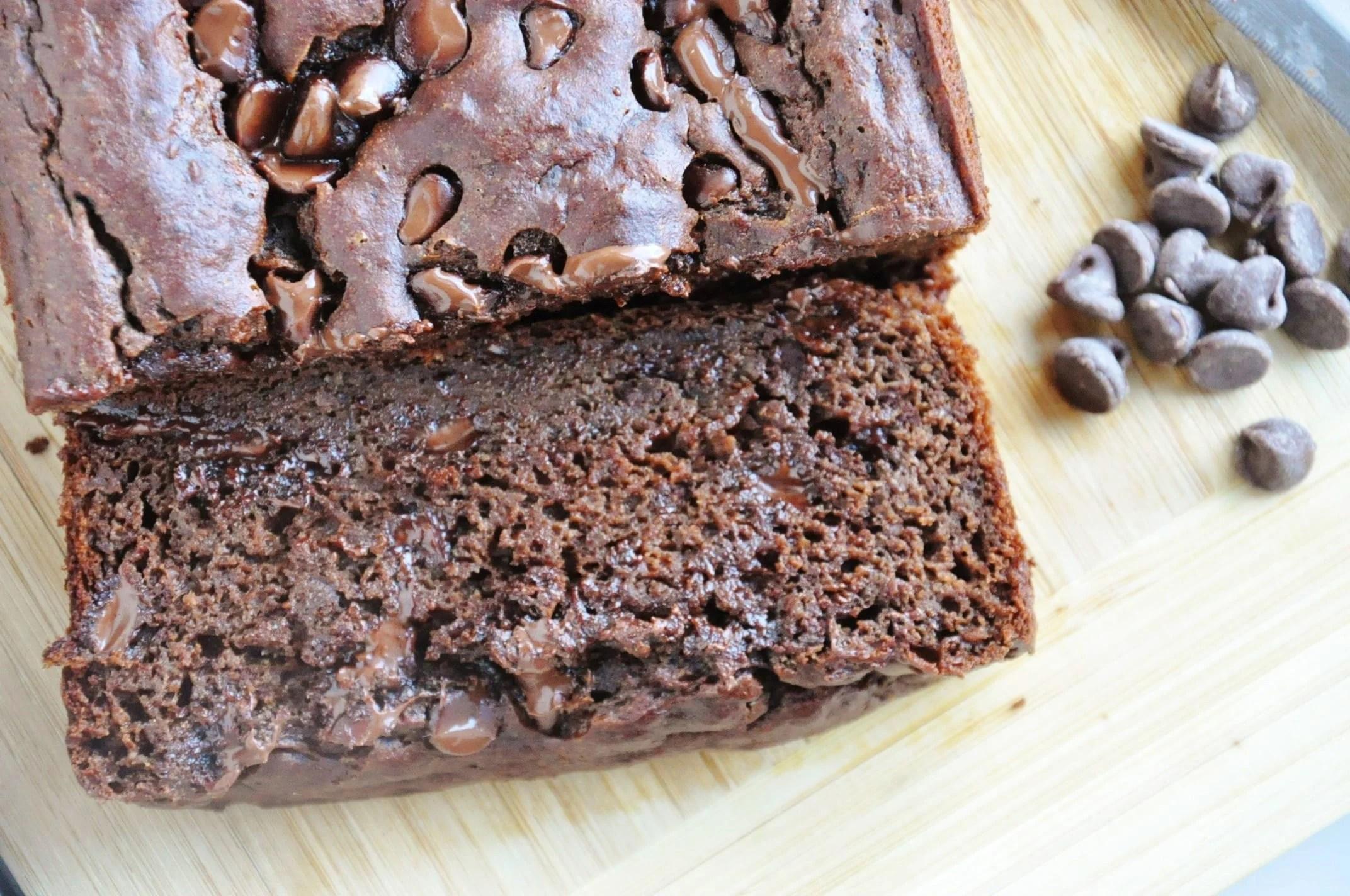 Double Chocolate Banana Bread (3)