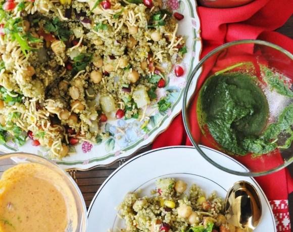 Quinoa Bhel Salad