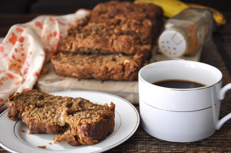 Vegan Banana Bread Whole Wheat