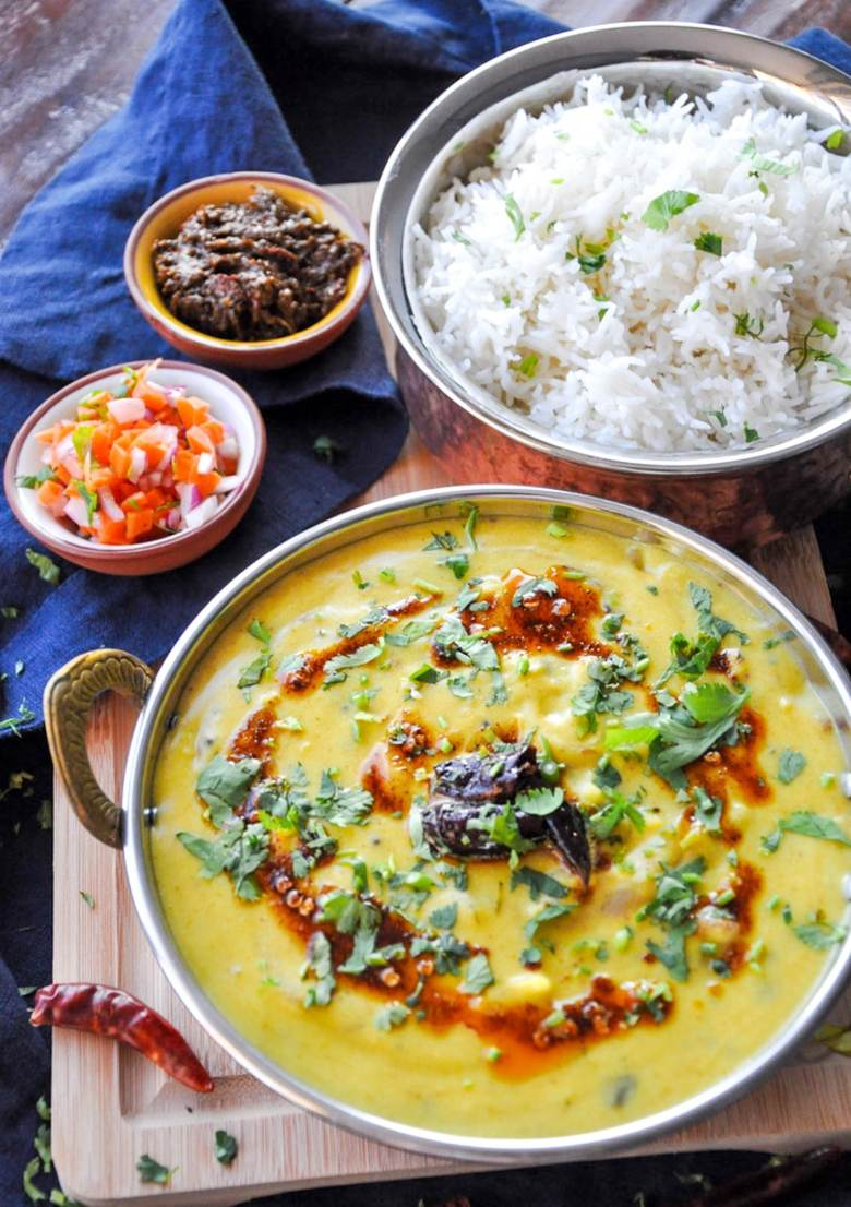 Punjabi Kadhi (healthy, gluten-free)