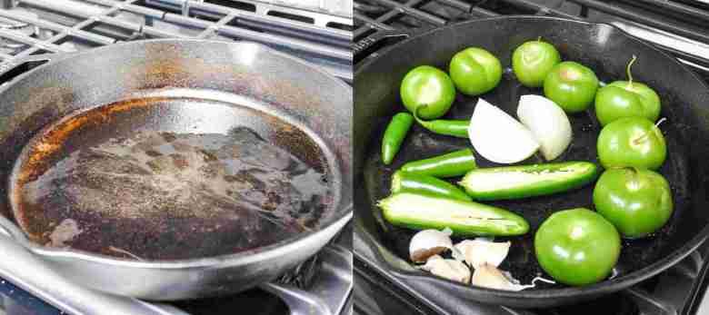 Tomatillo Salsa Verde (healthy, paleo, vegan, GF)