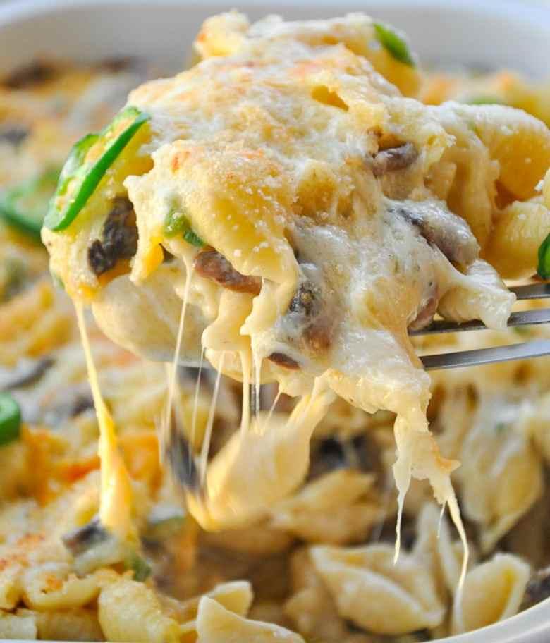 Truffle Mac and Cheese (vegetarian, GF option)