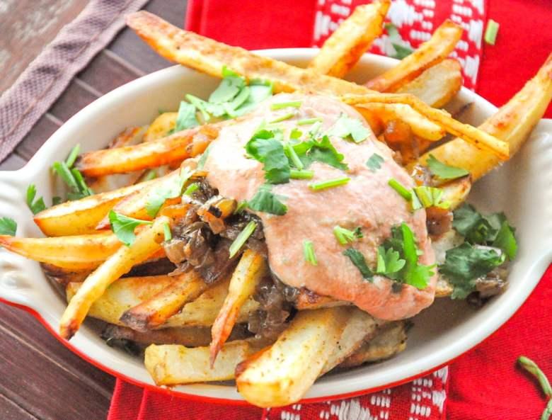 Masala Fries Animal Style