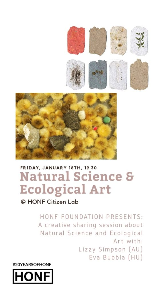 Natural Science & Ecological Art poster
