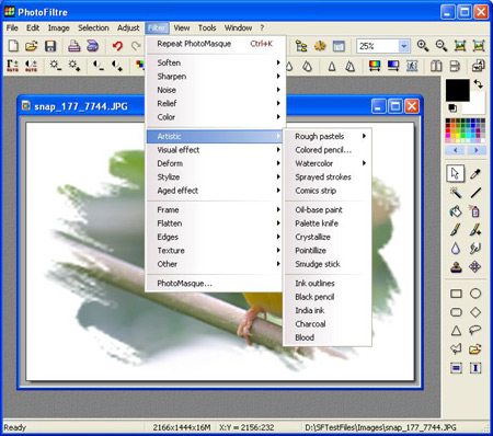 photofiltre 11 Free Adobe Photoshop Alternatives (Softwares)