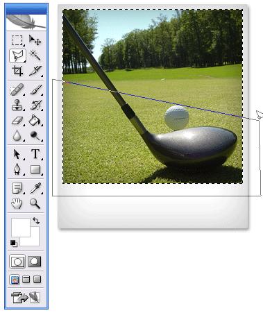 Polaroid in Photoshop
