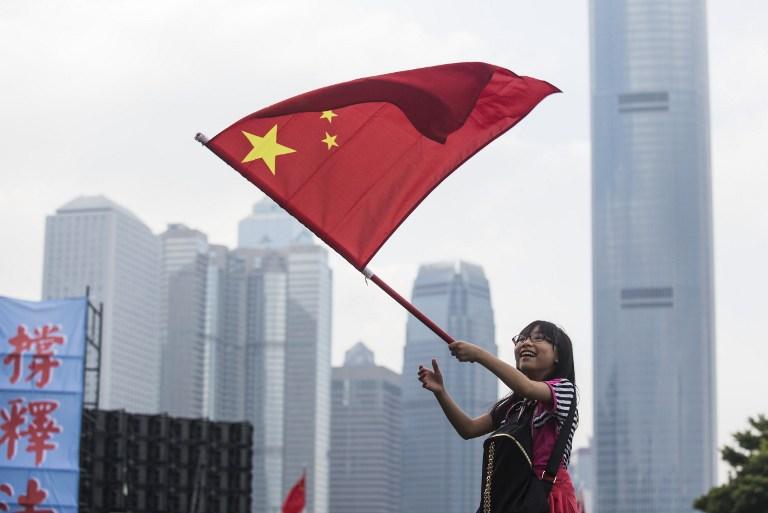 Image result for Hong Kong, China flag