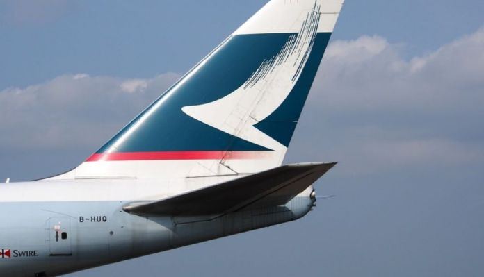 Cathay Pacific.
