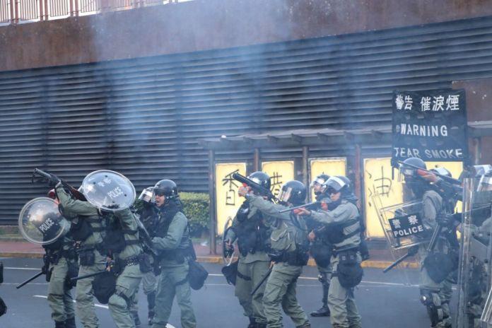 September 22 Sha Tin protest