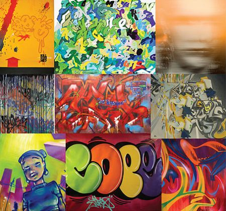 Graffiti exhibit at Dragon-i. Thursday! - Hong Kong Hustle