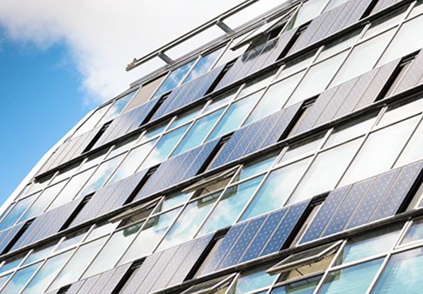 BIPV(即 Building Integrated PV。PV即Photovoltaic)是一種將太陽能發電產品(光伏)融入於建築上的技術。