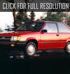 toyota tercel hatchback 1983 [ 1024 x 768 Pixel ]