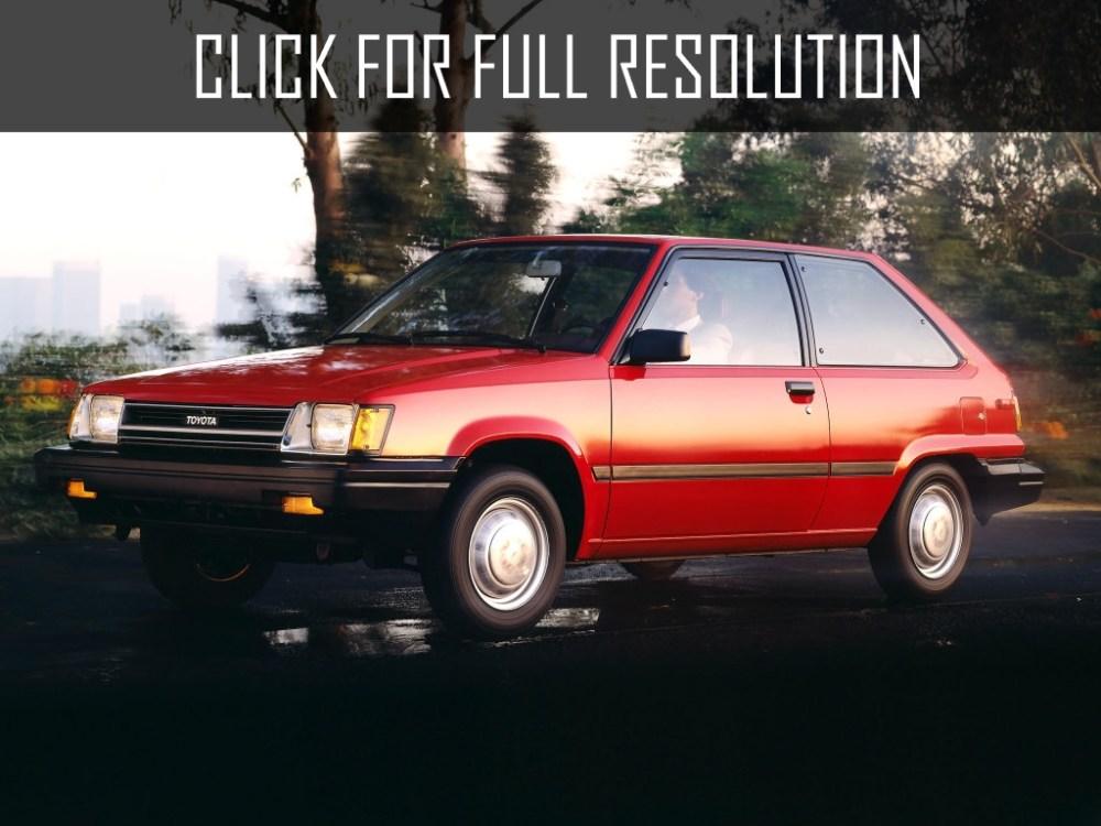 medium resolution of toyota tercel hatchback 1983
