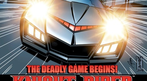 Comic Book Review - Knight Rider (Lion Forge)