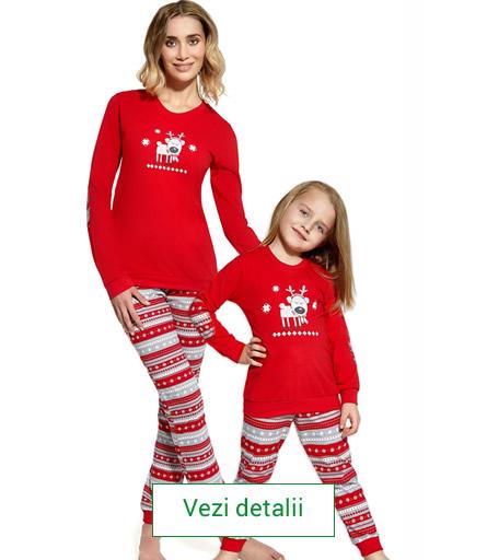 Pijamale cu reni
